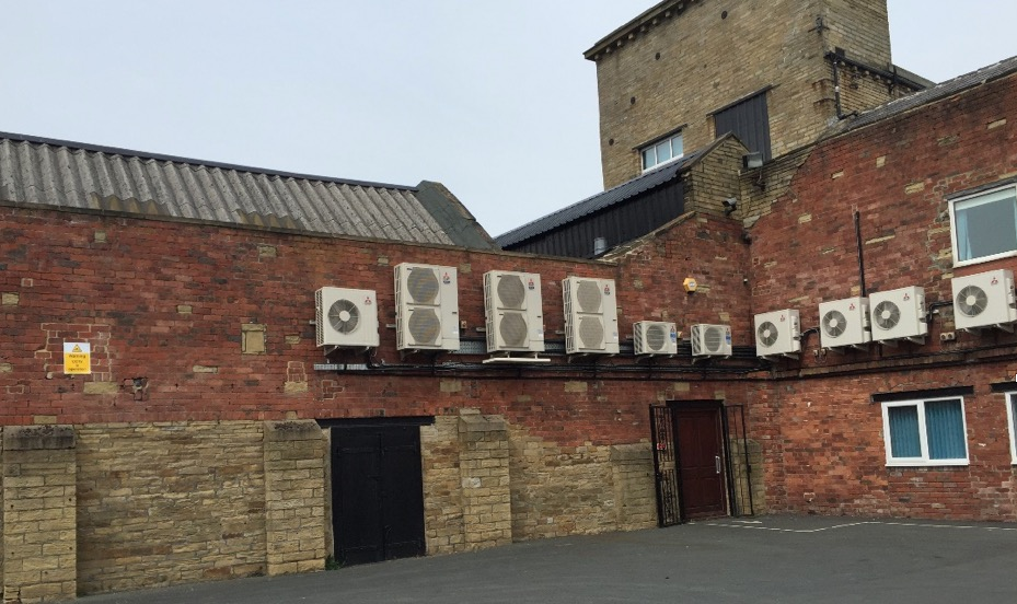 Air Conditioning Installation at Ashland Chemicals